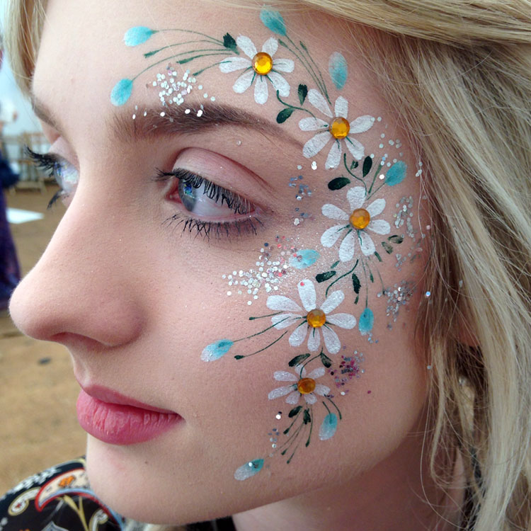 doodle cheeks face painting north london face painters